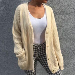 Sweaters - 100% Cashmere oversized cardigan
